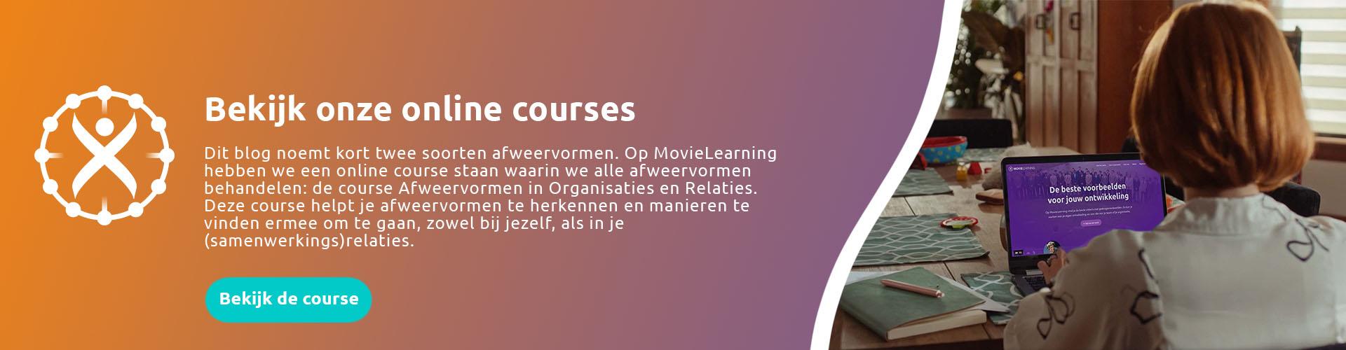 Algemene online course banner